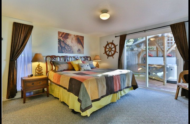 Captains Quarters, the Master Bedroom